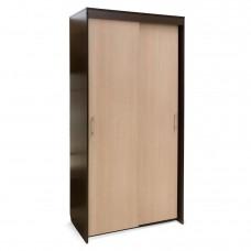 Шкаф — КУПЕ 2-х дв №1. «Камелия»   Венге/Бел.дуб